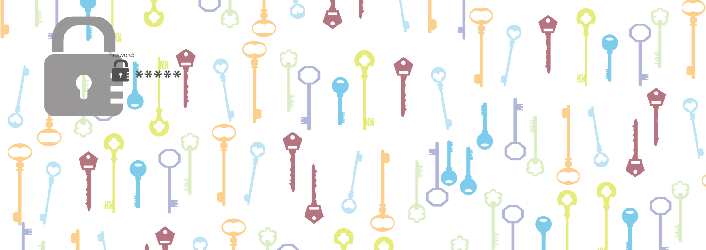 keys lock password