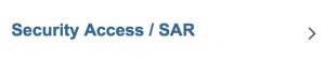 Security Access : SAR