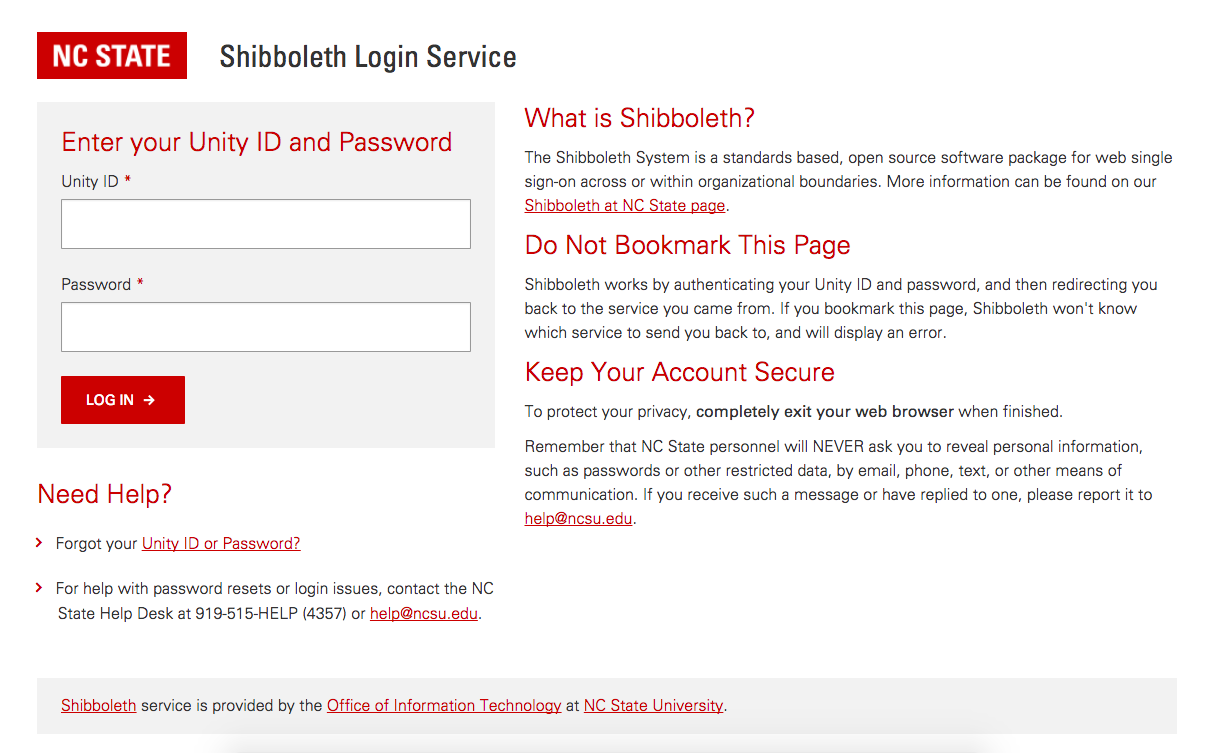 Shibboleth Login Service PageBefore You Are Redirected To This Login Page,  Some Services Will First Require You To Select The Federation Type (Higher  ...