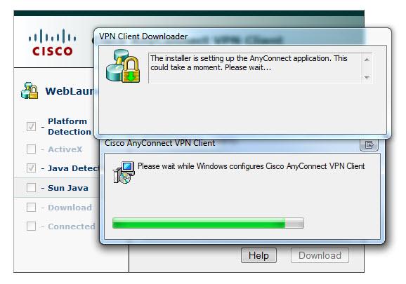 VPN-Installing