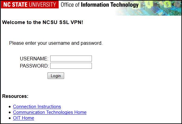 VPN-Web-Login