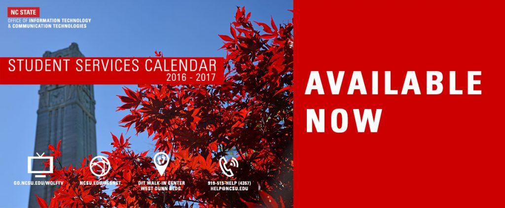 Cover of 2016 - 2017 Calendar
