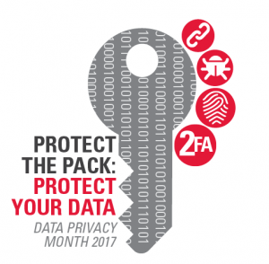 Data Privacy Month 2017: Protect the Pack, Protect Your Data