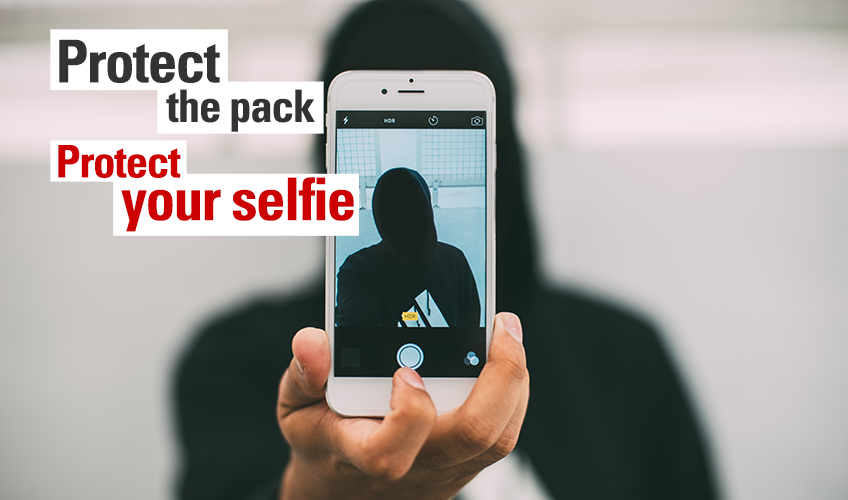 Protect the Pack! Protect Your Selfie
