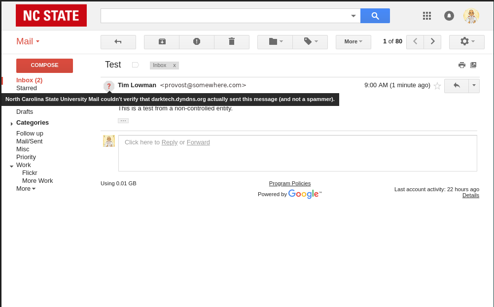 Increased phishing and security protection in Gmail – Office of