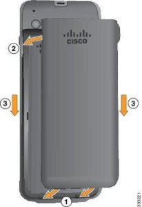 Cisco 8821 Wireless IP Phone Battery ONLY