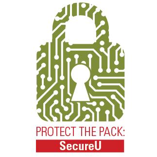 Protect the Pack: SecureU Logo