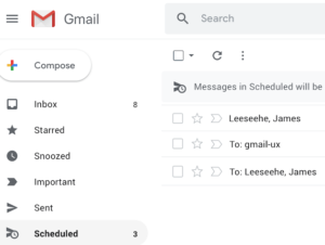 Gmail Schedule Send Label