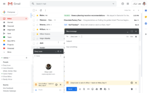 Gmail Out of Office Notifications