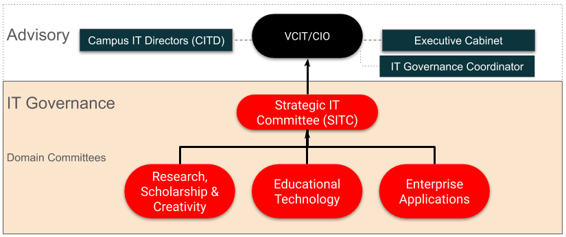 Diagram of IT Governance Structure